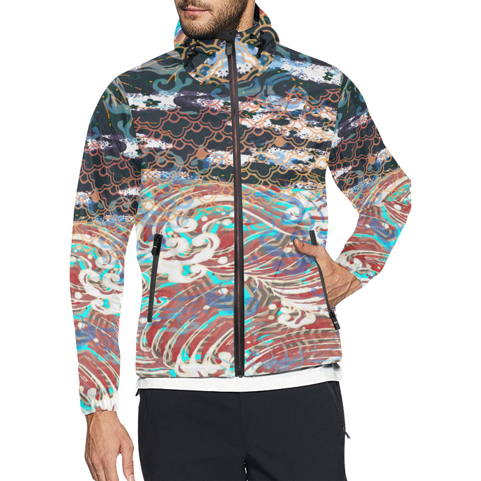 Poetic Totality Windbreaker