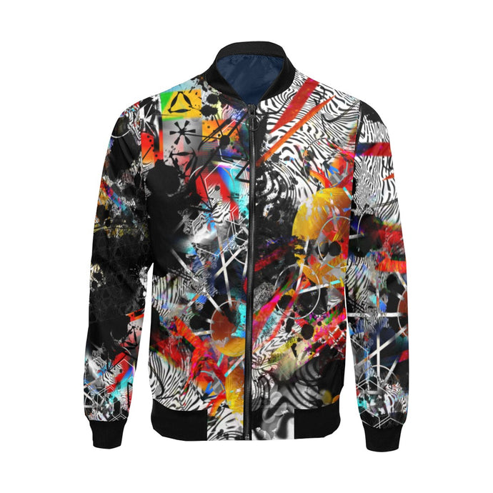 Mysterious Business Bomber Jacket