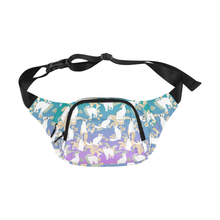 The Itty Bitty Kitty Committee 5 Zip Fanny Pack