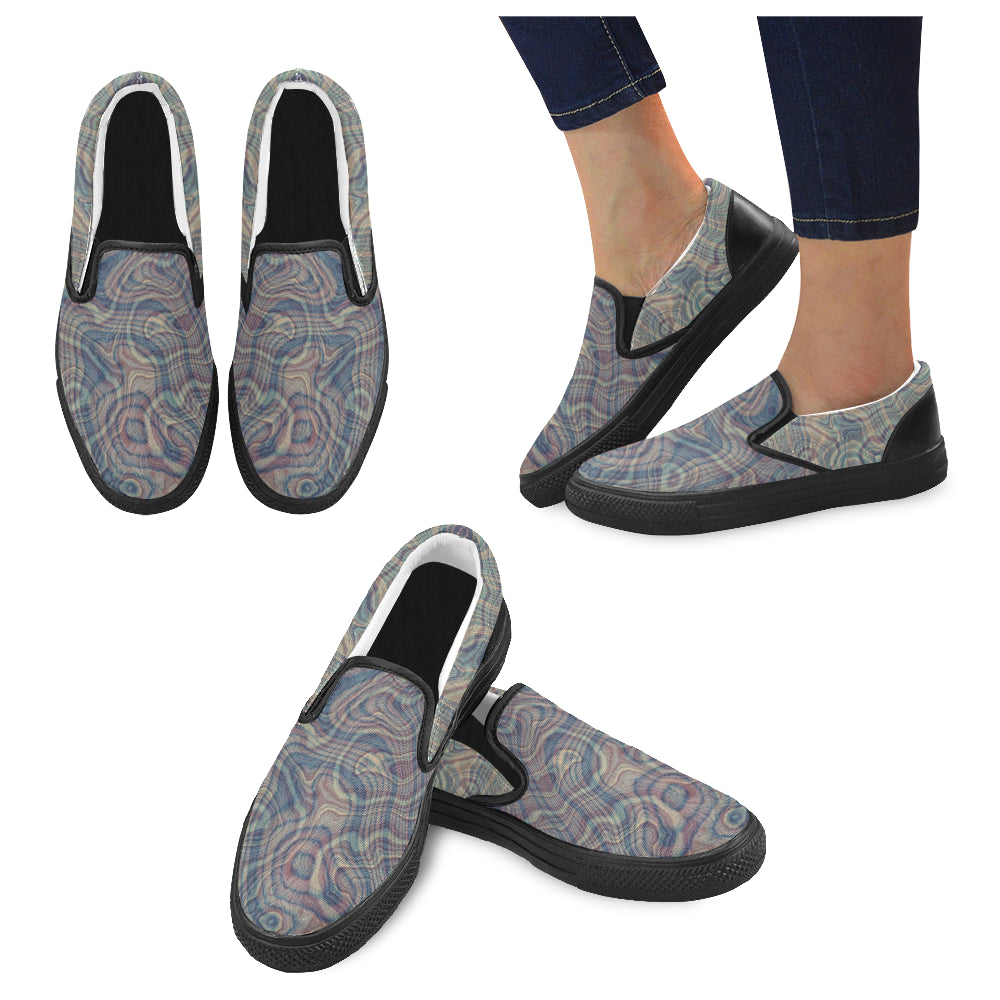 Reflective Tendencies Slip On Large