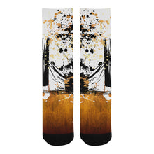 Sunflower Samurai Socks