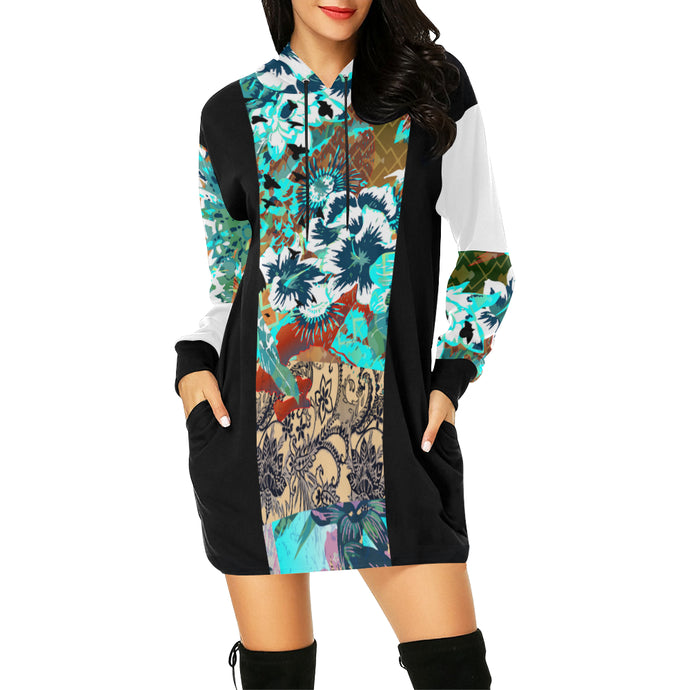 Spatial Absolution Hooded Dress