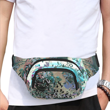 Trouble in Paradise 5 Zip Fanny Pack