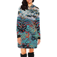 Situational Agreement Hooded Dress