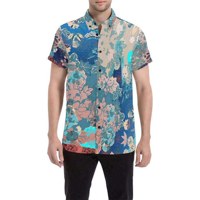 Palette Cleanse Short Sleeve Button Up