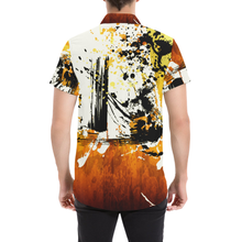 Sunflower Samurai Short Sleeve Button Up