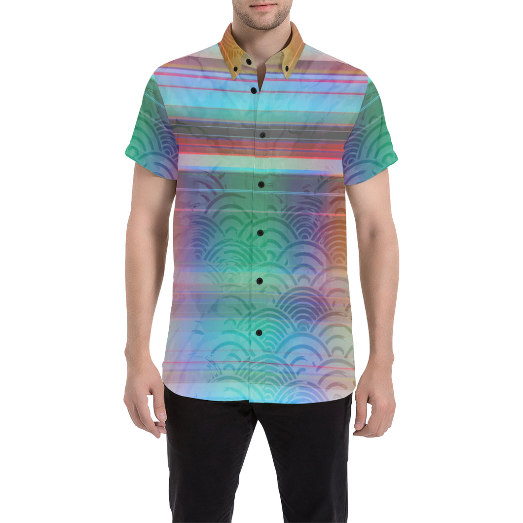 Spectrum Synthesis Short Sleeve Button Up