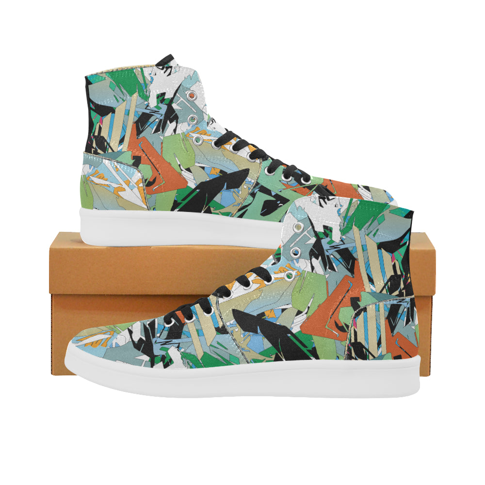 Beats and Pieces Canvas Sneakers