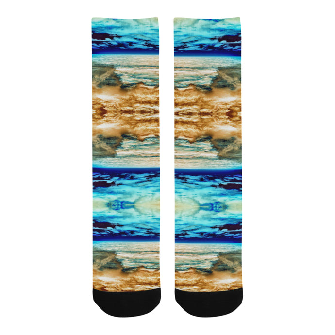 When the Ocean met the Sun Socks