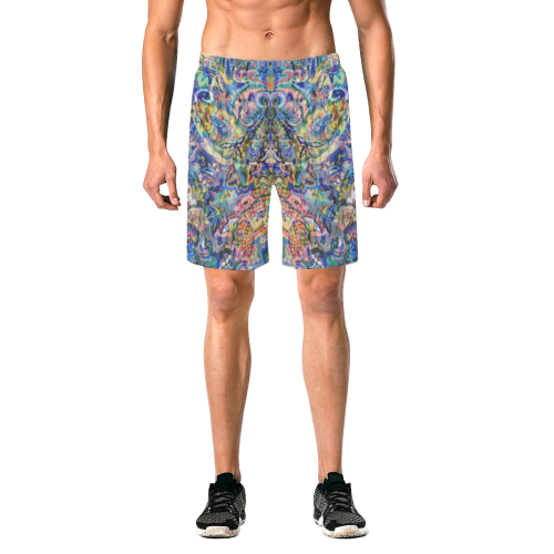 Zedis Graffitis Men's Shorts