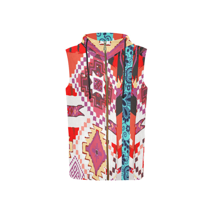 Attack of the Killer Kimono Women's Sleeveless Hoodie