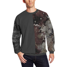 Phoenix Splash in Charcoal Long Sleeve Crewneck