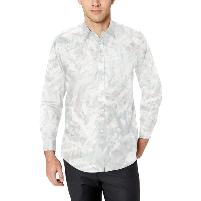 Tracks in the Snow Casual Dress Shirt
