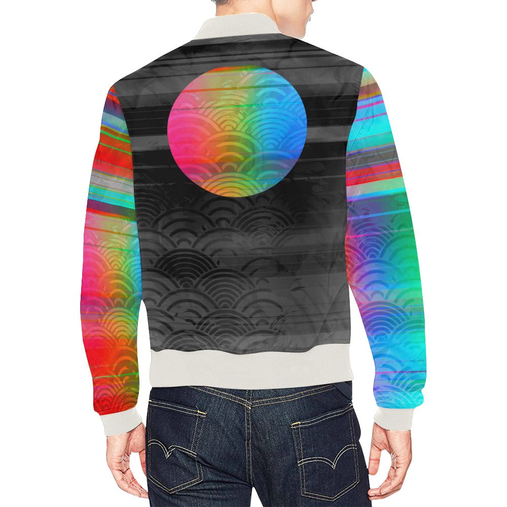 Technicolor Light Bomber Jacket