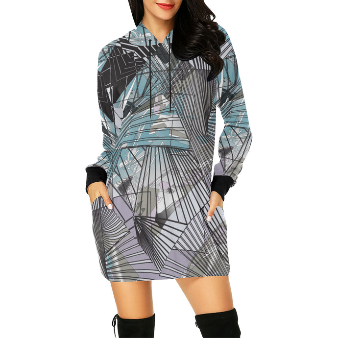 Head in the Clouds Hooded Dress