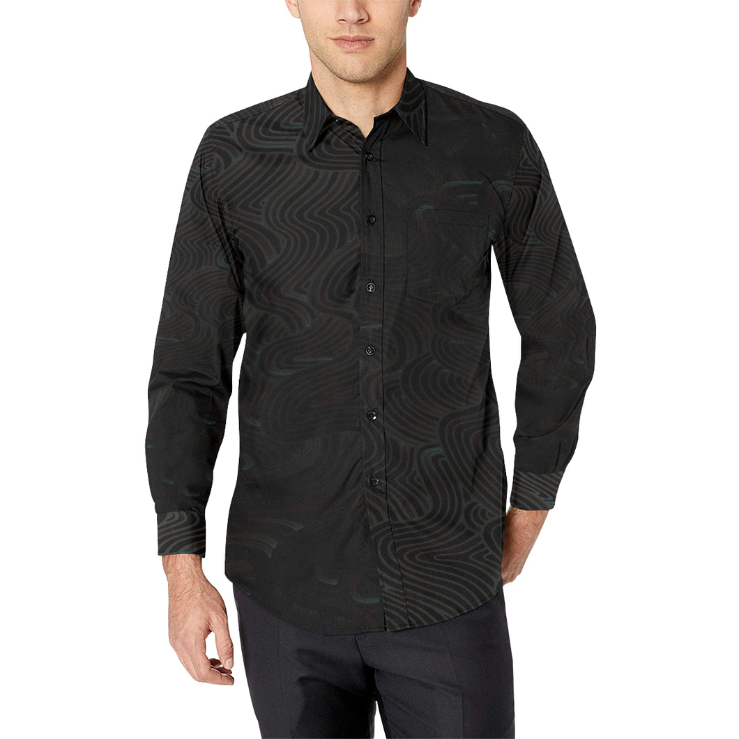 Into The Infinite Casual Dress Shirt