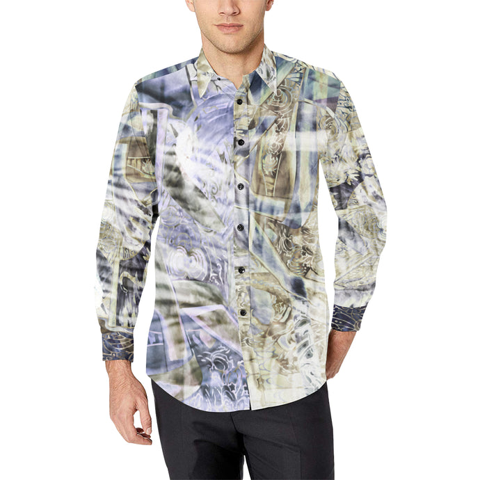 Gold Coast Hustle Casual Dress Shirt