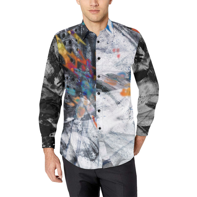 Marble Chemistry Casual Dress Shirt