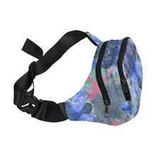 Evening Lush 5 Zip Fanny Pack