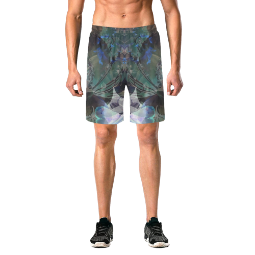 Blooming Before Morning Men's Shorts