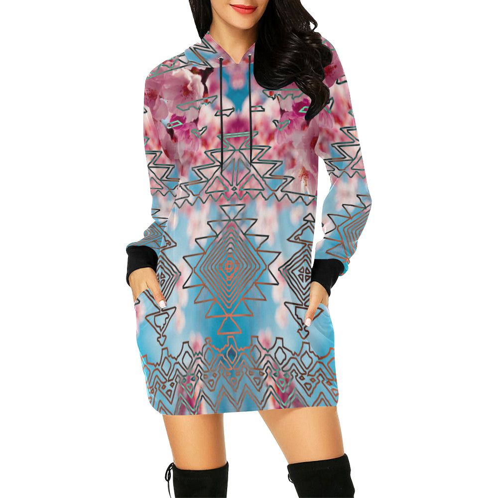 Regenerating Hooded Dress