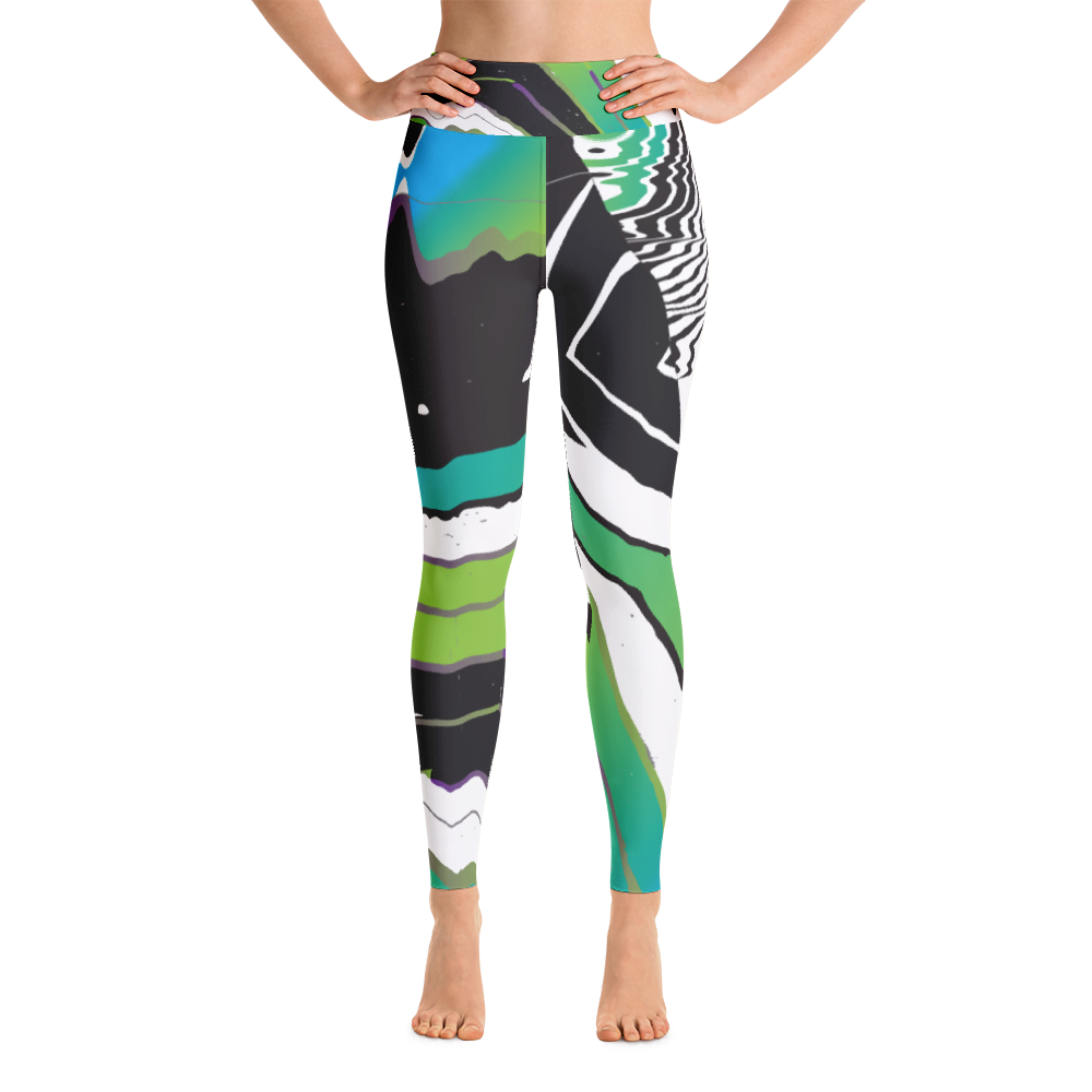 College Art Class Yoga Leggings