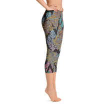 Thai Dye Capri Leggings