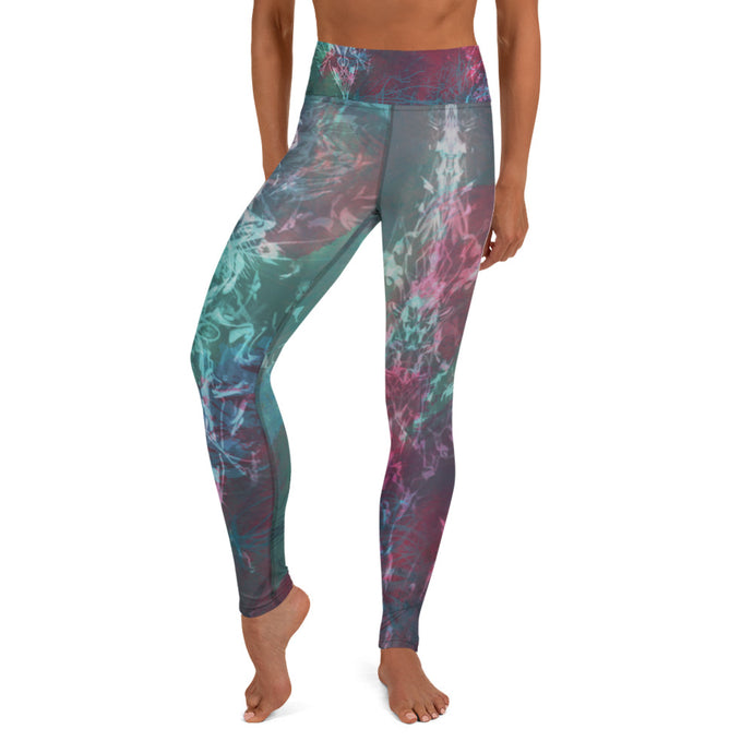 Reveries of Velvet Yoga Leggings