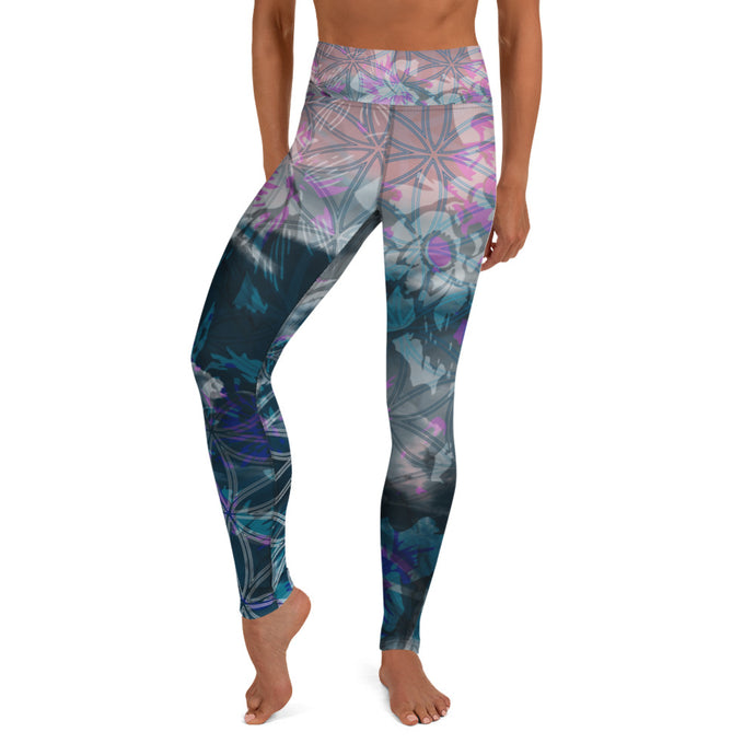 Wading in the Wake Yoga Leggings