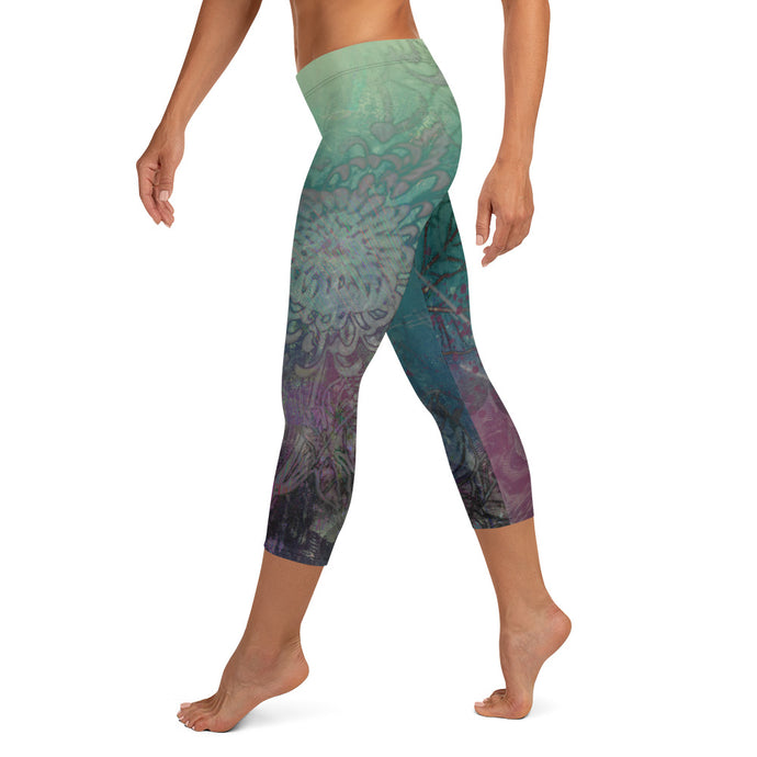 Old Roots, New Growth  Capri Leggings