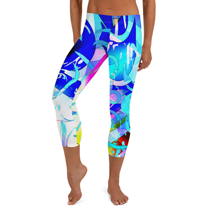 Sailor Fruit Capri Leggings