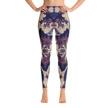 Midnight off of Kanagawa Yoga Leggings