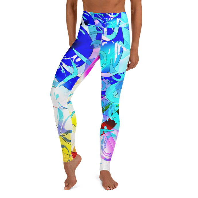 Sailor Fruit Yoga Leggings
