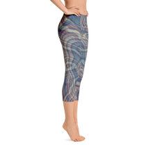 Reflective Tendencies Capri Leggings