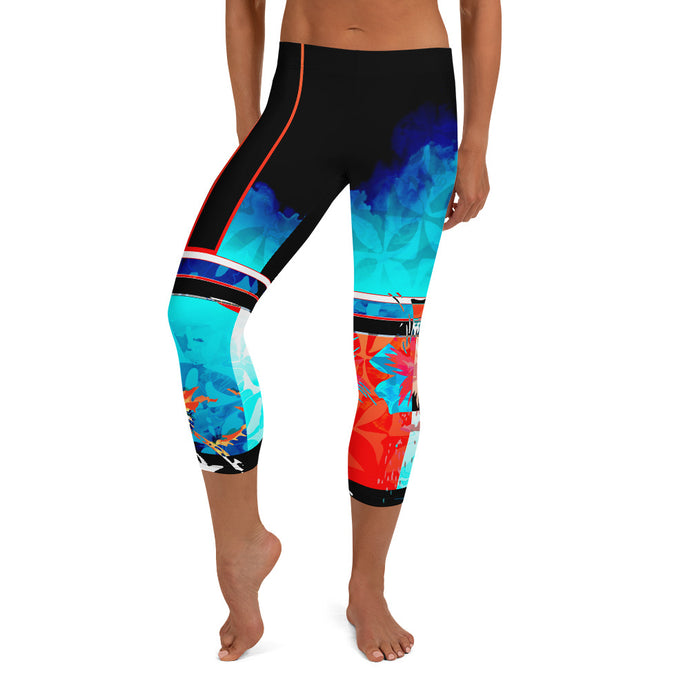 The Way That You're Making Me Feel Tonight Capri Leggings