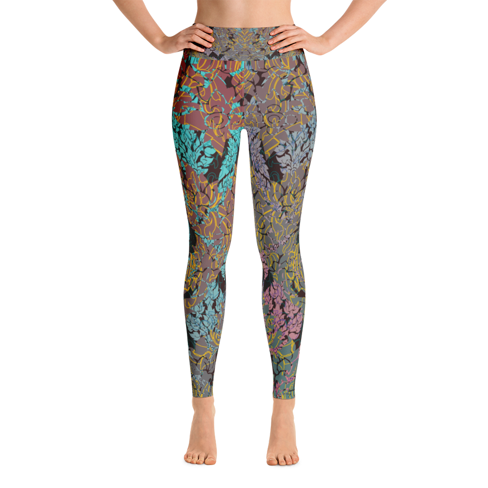 Thai Dye Yoga Leggings