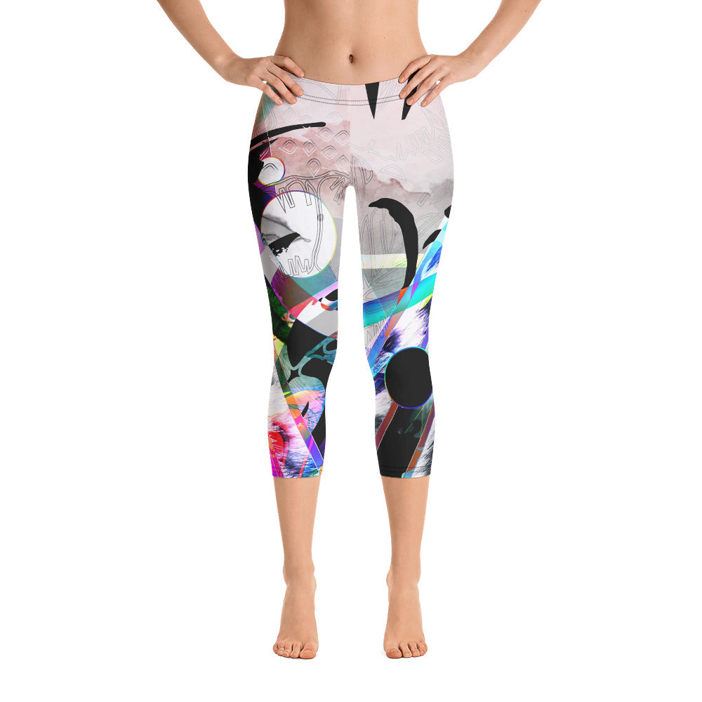 $uperbad Capri Leggings
