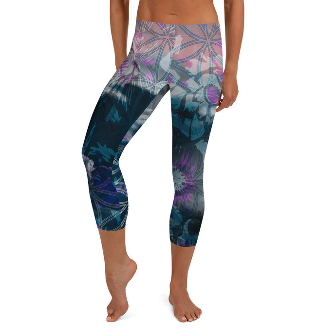 Wading in the Wake Capri Leggings