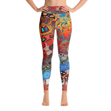 Invasive Obstacles Yoga Leggings