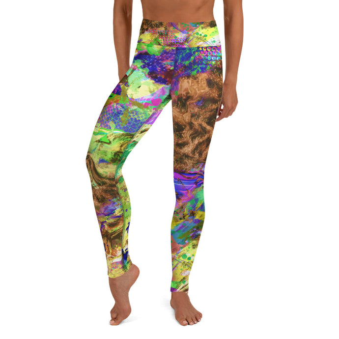 Pay Day Yoga Leggings