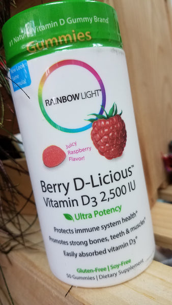RAINBOW LIGHT - Berry D-Licious - Sunshine Organic Herbals LLC