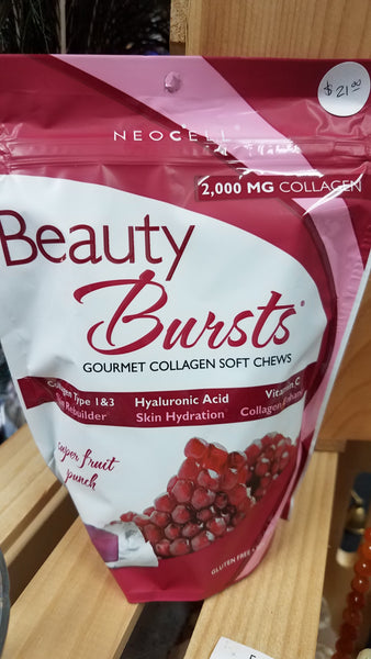 NeoCell Beauty Bursts, Collagen Chews