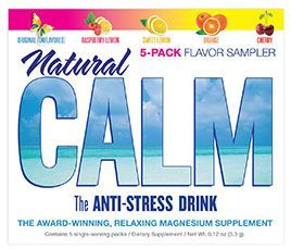 CALM Magnesium Supplement - Sunshine Organic Herbals LLC