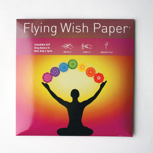 Flying Wish Paper Kit - Sunshine Organic Herbals LLC