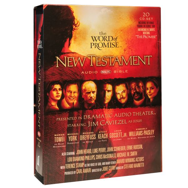 The Word of Promise New Testament Audio CD Set