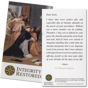 Integrity Restored Prayer Card 25-Pack