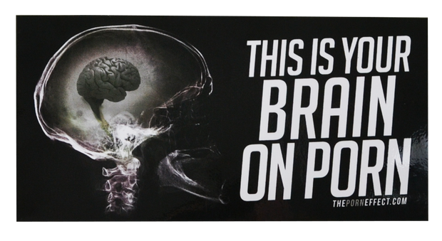 This is your Brain on Porn Sticker - 10 Pack