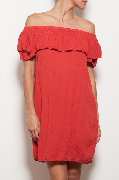 Corra Off Shoulder Dress