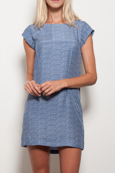 Weaver Silk Dress