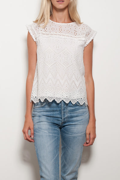 Adamary Embroidered Top